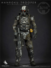 In-Stock Green Wolf ES 1/6 Scale HANROKU TROOPER SALT BLACK EDITION (REGULAR VER)
