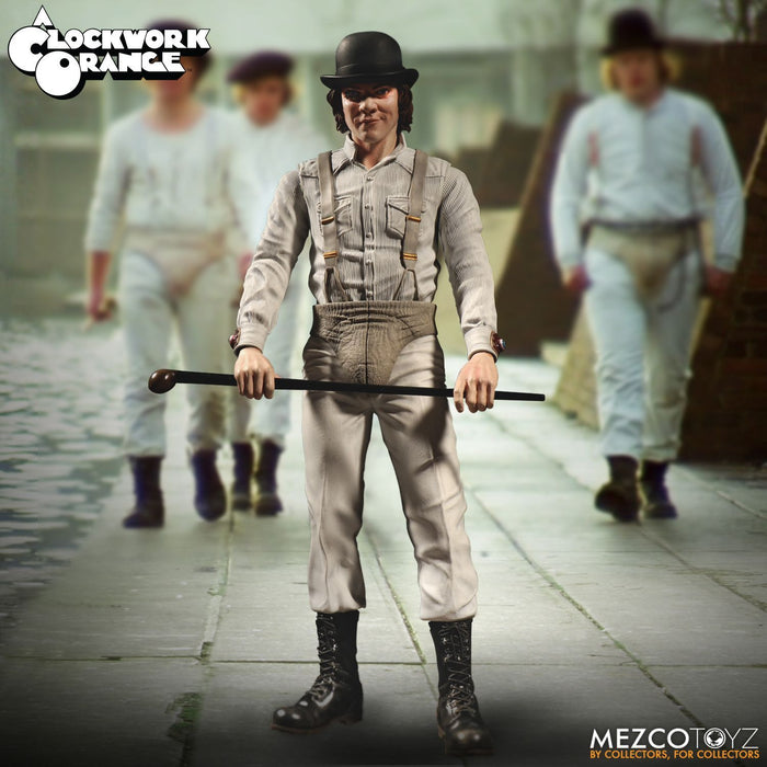 Pre-order Mezco 1/6 Action Figure 12'' 40055 Clockwork Orange Alex DeLarge