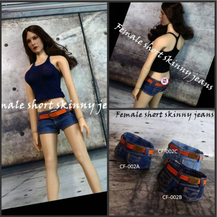 1/6 Skim The I-shaped Vest Female Clothes For Seamless Body CF-003