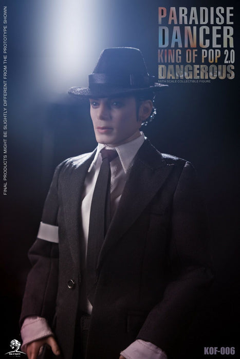 In-stock 1/6 King of Figure KOF-06 DANGEROUS 2.0 Action Figure