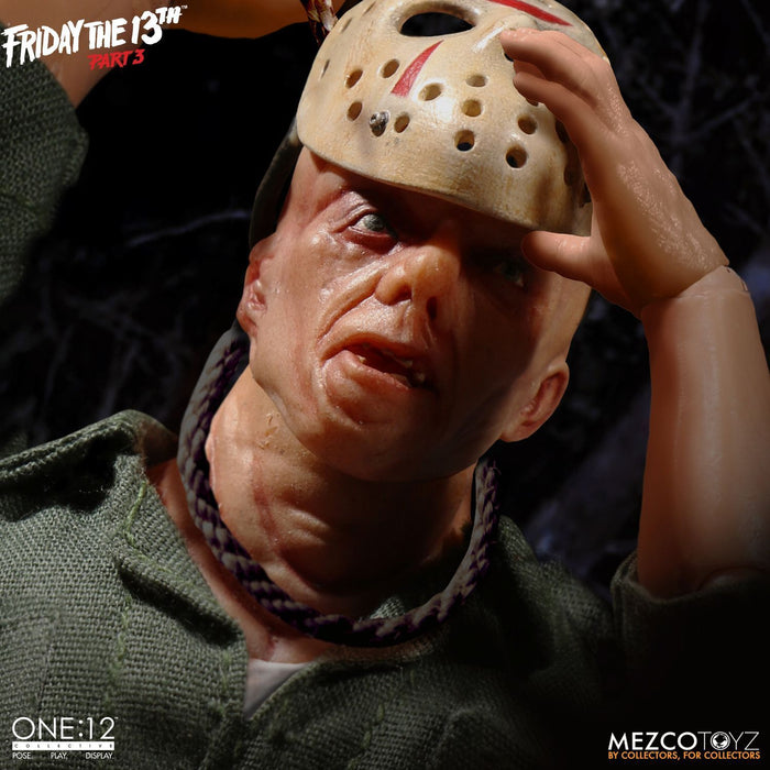 Pre-order 1/12 Action Figure Mezco Toyz Friday The 13th Part 3- Jason