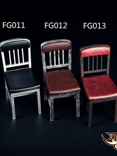 1//6 Scale Figure Chairs Model Assembled Version Furniture Home Scene Accessories