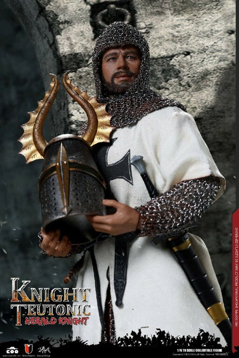 In-stock 1/6 COOMODEL DIE-CAST ALLOY - HERALD OF KNIGHTS TEUTONIC SE055