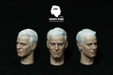 Pre-order 1/6 Heads King HK002 Old Man Head Sculpt HW/Neck