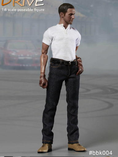 1/6 BBK004 Drive Ryan Gosling Racer Dual Customes Action Figure