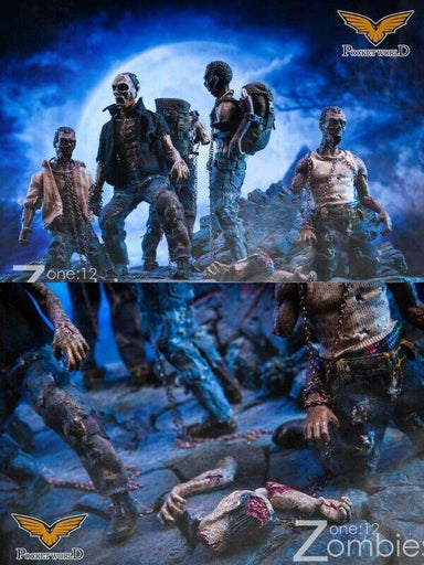 In-stock 1/12 POCKET WORLD  PW2012 Zombie Series 6 inch Figure