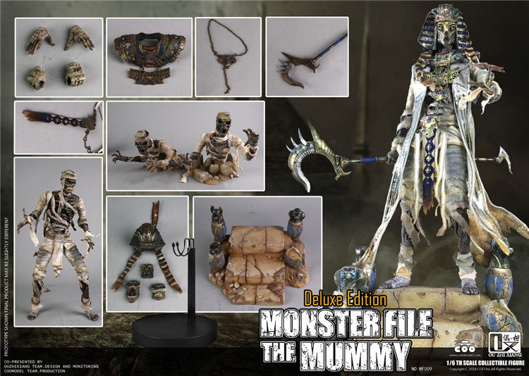 Pre-order COOMODEL X OUZHIXIANG MF009 MONSTER FILE SERIES - MUMMY EXCLUSIVE Ver.