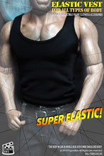 1/6 Scale Figure Box Super-Elastic Male Vest For Seamless & Muscular Body