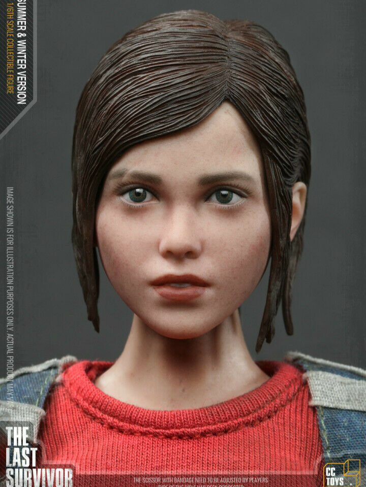 "CCTOYS 1//6 Scale THE LAST SURVIVOR /""ELLI/"" Coat Model for 12/"" Action Figure"