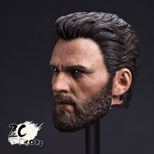 In-Stock ZCTOYS 1/6 T-05 Captain America With Beard Version for Hot Toys Body