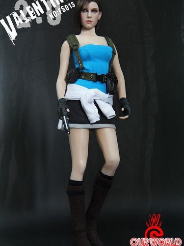 In Stock SW ourworld 1/6 FS013 Jill Valentine 2.0 12'' action figure Resident Evil