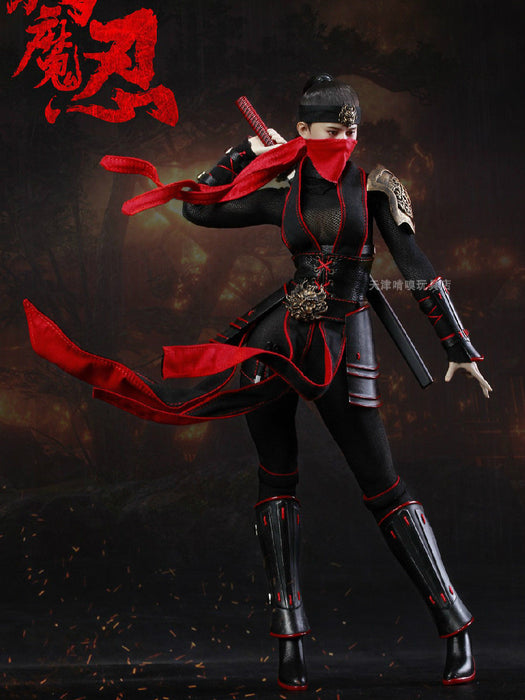 IN-StocK 1/6 Scale WAR STORY WS003 Samurai Female Figure With Phicen Body