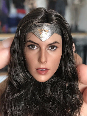 1/6 Gal Gadot head sculpt for wonder woman Diana of Themyscira / Diana Prince