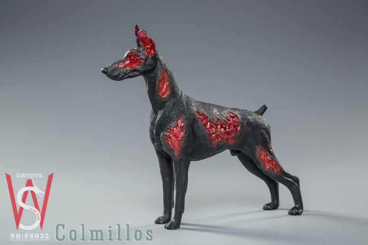 In-stock 1/6 SWTOYS FS035 Colmillos Zombie Dog
