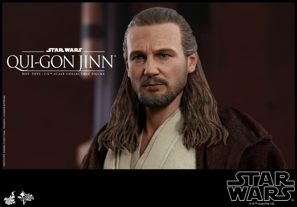Pre-order 1/6 Scale Hot Toys QUI-GON JINN MMS525 Action Figure Last one