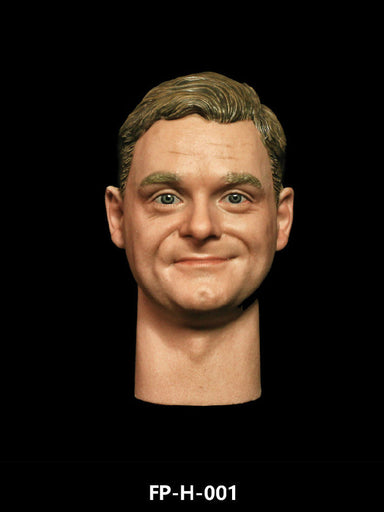 In-stock 1/6 Scale Facepool Male Head Sculpt With Expressions FP-H-001 FP-H-002