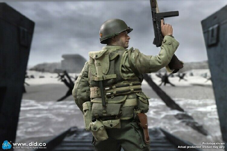 In-stock 1/6 DID WWII US 2nd Ranger Battalion Series 3 Captain Miller A80145