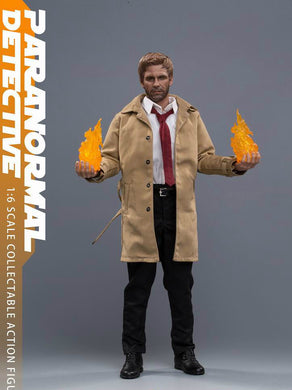 In-Stock 1/6 Scale Soosootoys SST007 Paranormal Detective 12in  Figure