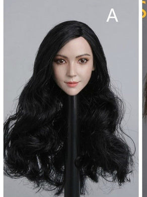Pre-order 1/6 Scale Female Head Sculpt Asian GAC GC011 AB Angelababy Asian