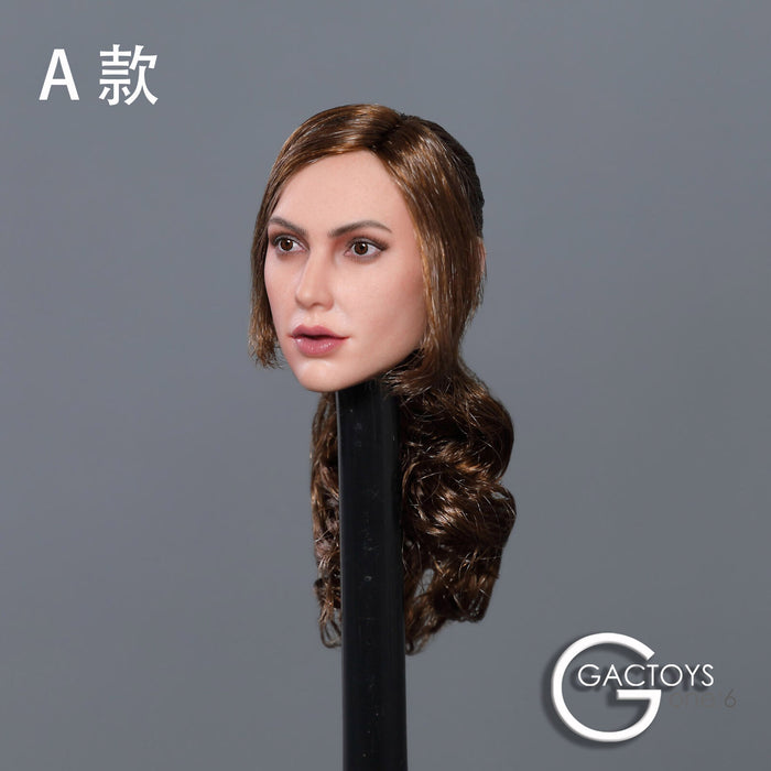 In-stock 1/6 Scale GACTOYS GC034 Gal Gadot Head Sculpt