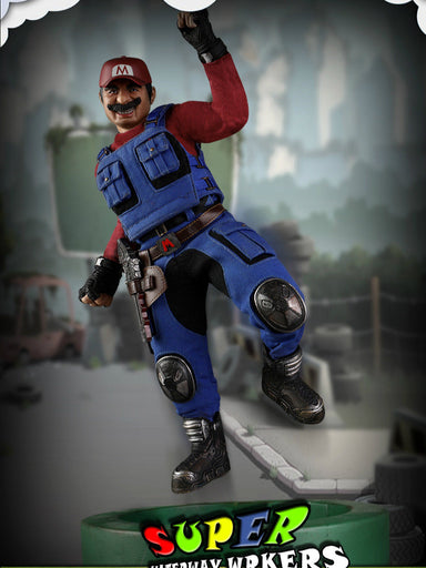 In-stock  D7TOYS 1/6 NO.D7001 SUPER Plumber (Mali) Figure