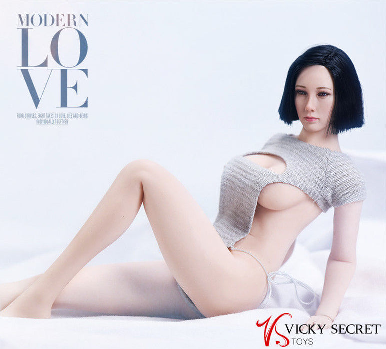 In-Stock 1/6 Scale Sweater For Female Action Figure 17XG09 VSTOYS
