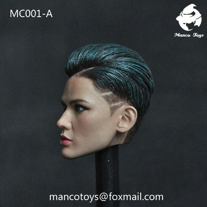 In-Stock 1/6 MC001 Manco Toys Ruby Rose Head H#Suntan Triple X John Wick