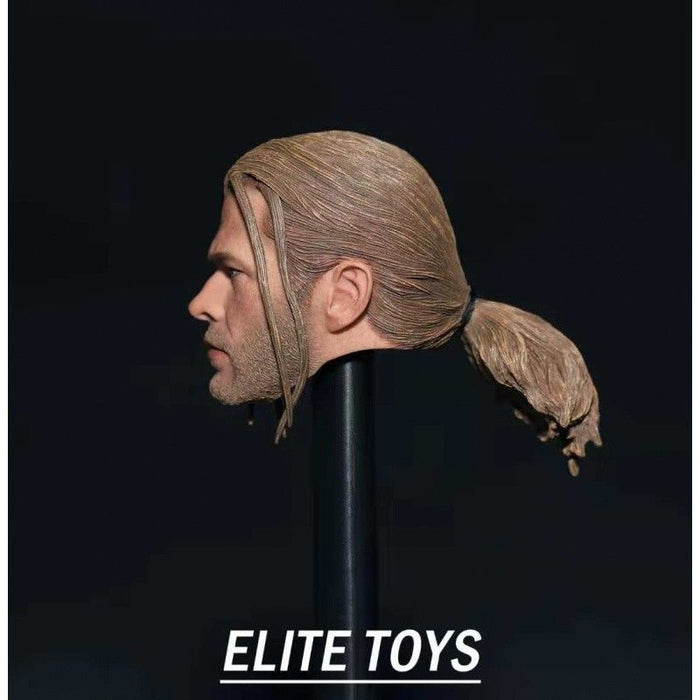 In-stock 1/6 Scale ELITE TOYS 006 Thor Head Sculpt