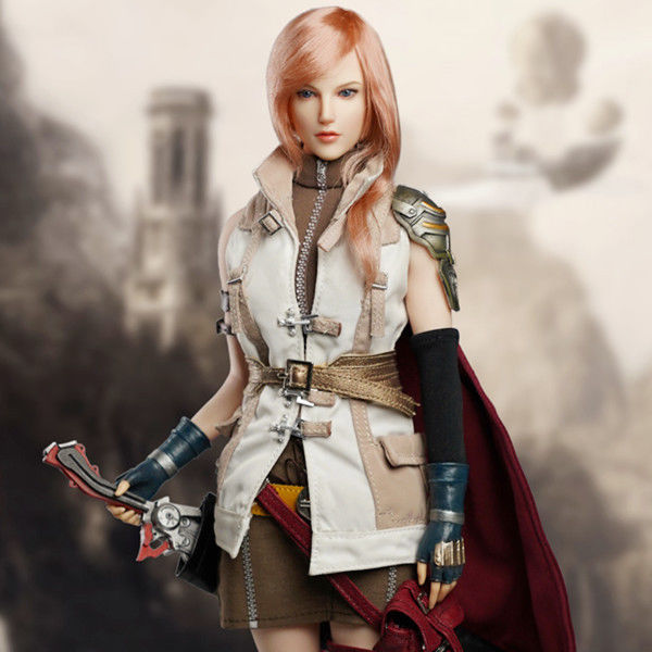 Pre-order 1/6 Scale SUPER DUCK cosplay SET041 Female Soldier Final Fantacy