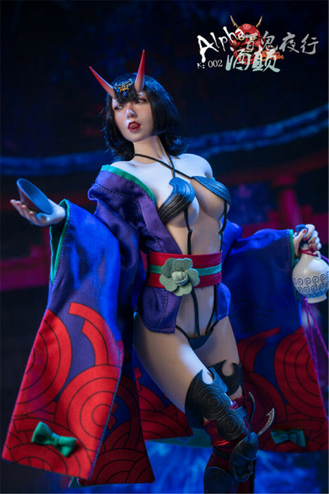 Pre-order 1/6 ALPHA K002 Shuten-doji Female Figure (Seamless Body)