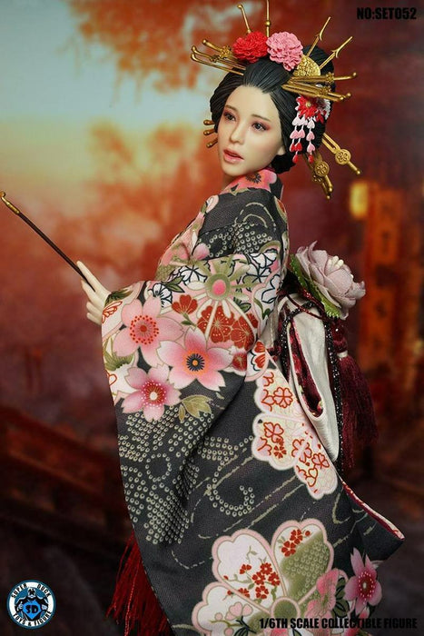 Pre-order 1/6 Scale SUPER DUCK SET052 Oiran Custom Kit