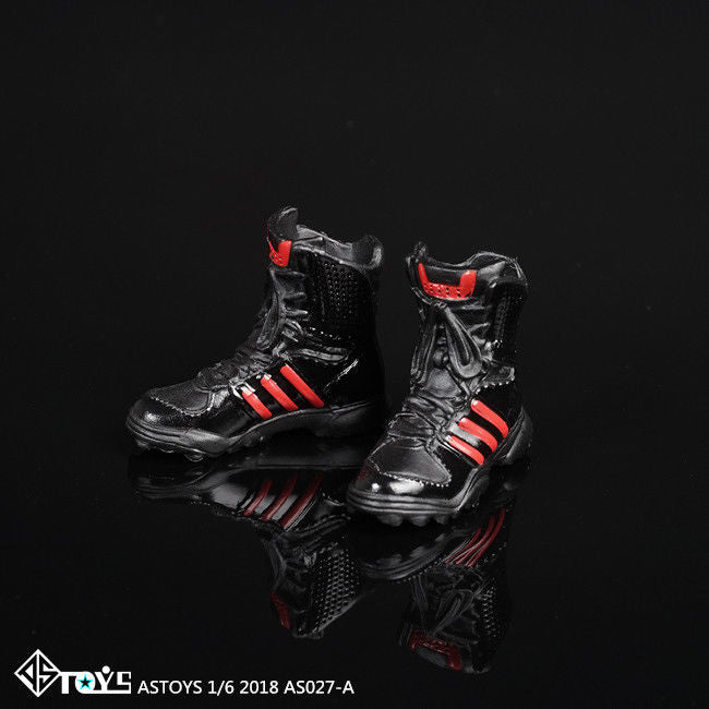 In-Stock 1/6 Scale Female Military High Ankle-High Tactical Boots ASTOYS AS-028