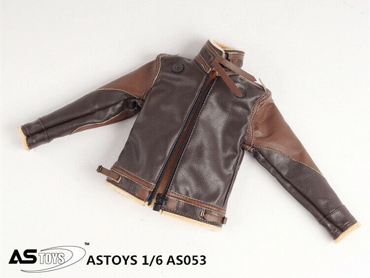 In-stock 1/6 Scale ASTOYS AS053 Conner Leather Jacket Suit Clothes Set