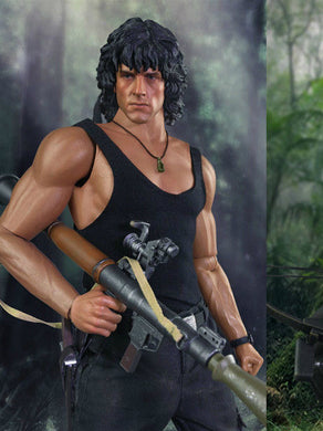 1/6 HaoYu Toys Action Figure For Rambo First Blood Jungle wolf