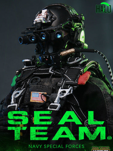 Pre-order 1/6 Scale MINITIMES TOYS M013 SEALTEAM SIX-HALO Action Figure