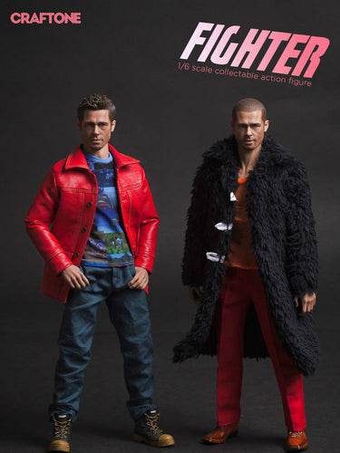 Pre-order 1/6 Scale CRAFTONE 002A Fighter Tyler Dual Set Deluxe Ver.