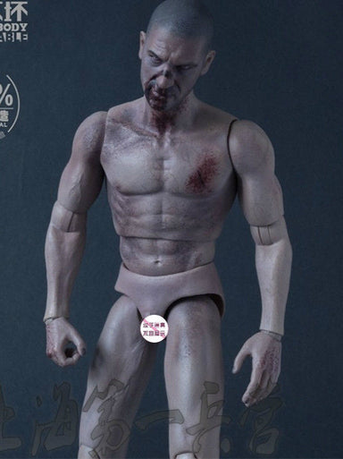 1/6 Worldbox Durable Figure Zombie AT019 Wounds Body & Head