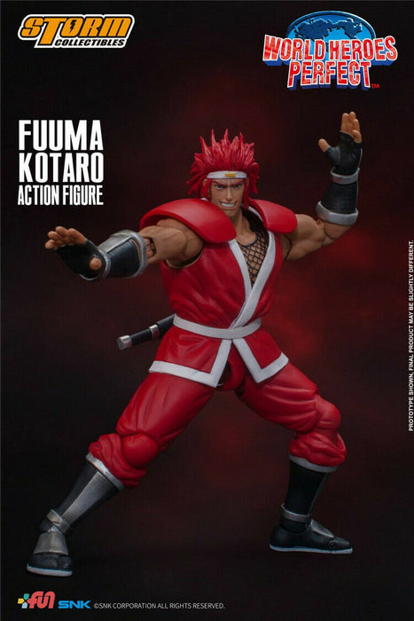Pre-order 1/12 Storm Toys World Heroes Perfect Fuuma Kotaro WHP002 Action Figure