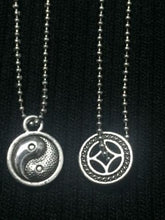 Rare 1/6 Scale 2 PCs Necklace Zen Yingyang Chinese Mystery Clothes Accessories