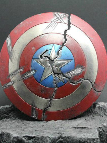 In-Stock 1/6 Scale Toys Era TE022A Metal Shield Captain America for 12in figure