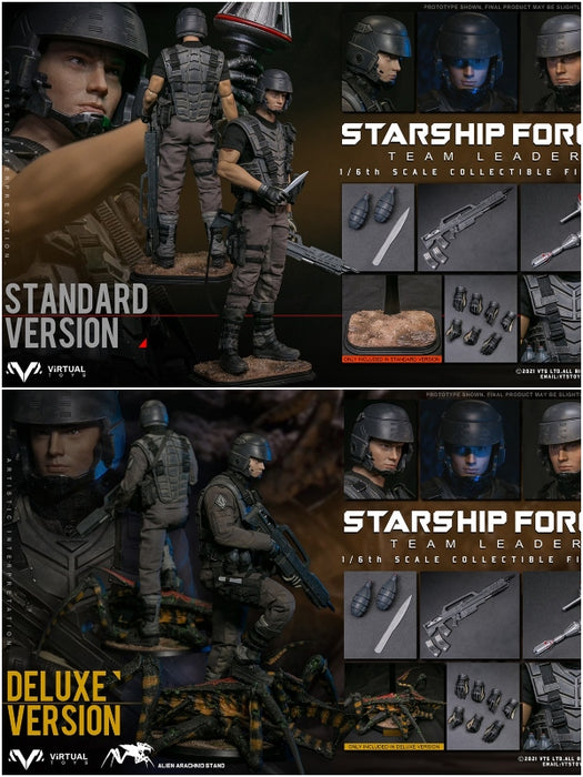 Pre-order 1/6 VTS TOYS Starship Force - Team Leader VM037 Standard Ver.