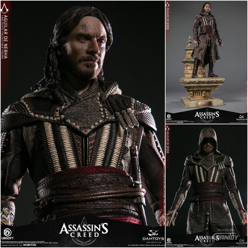 Pre-order 1/6 Scale DAMTOYS DMS006 ASSASSIN'S CREED AGUILAR MICHAEL FASSBENDER