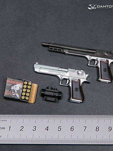 Pre-order 1/6 DAMTOYS DESERT EAGLE handgun .50 Set