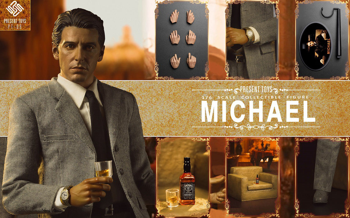 Pre-order 1/6 Present Toys SP09 The Second Mob Boss Michael Action Figure