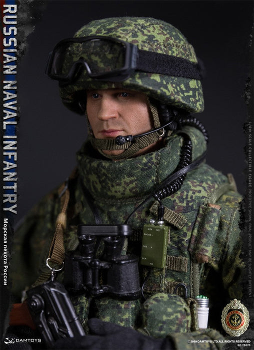 In-stock 1/6 DAMTOYS RUSSIAN NAVAL INFANTRY 78070 Action Figure