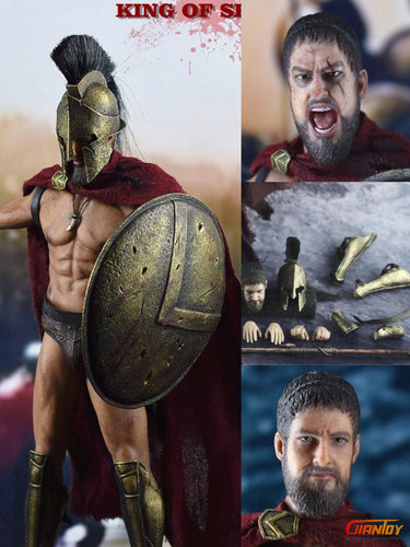 Pre-order 1/12 Scale BY-ART BY-S01 KING OF SPARTA 6 in Action Figure