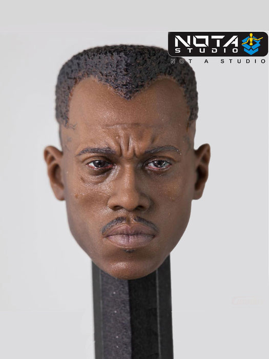 Pre-order 1/12  NOTA STUDIO Blade Head Sculpt For 6in mezco Figure