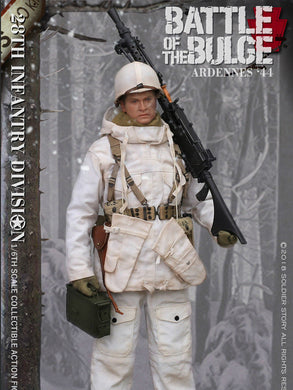 In-Stock 1/6 SoldierStory SS111 U.S. Army 28th Infantry Division Ardennes