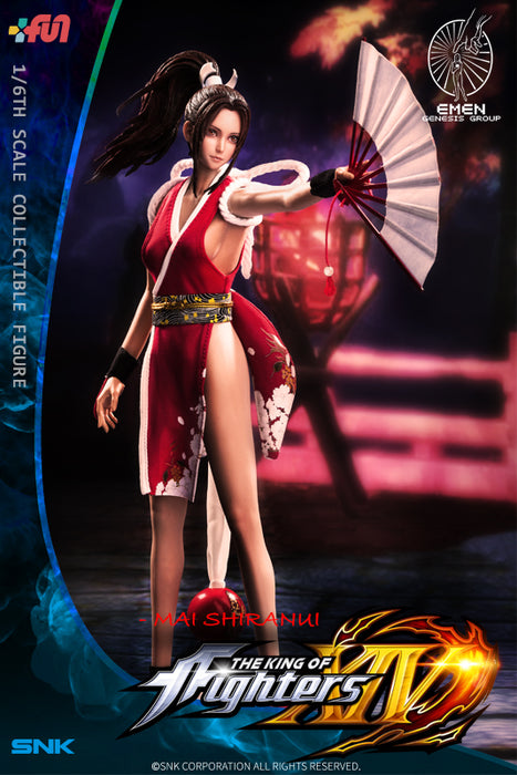 In-stock 1/6 Scale Genesis KING OF FIGHTERS MAI SHIRANUI 12in Figure
