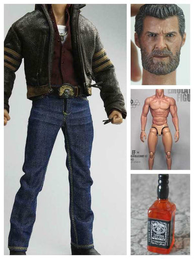 Custom 1/6 Scale Kit Set For X-men Wolverine Hugh Jackman In-Stock